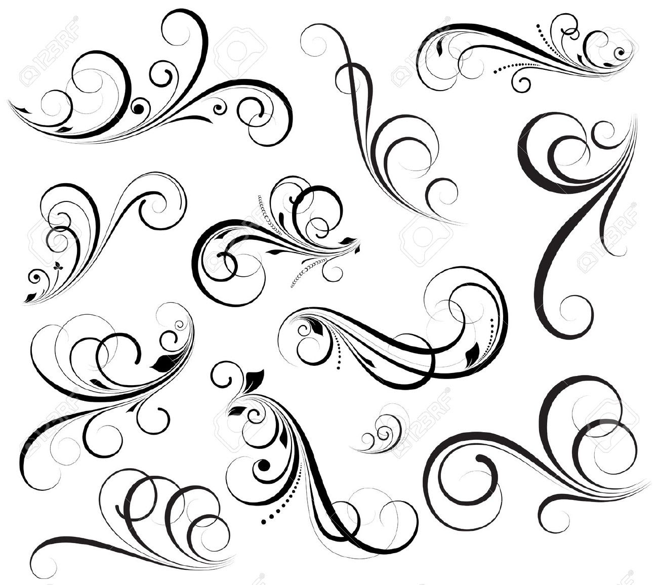 Swirl Drawing At Getdrawingscom Free For Personal Use Swirl