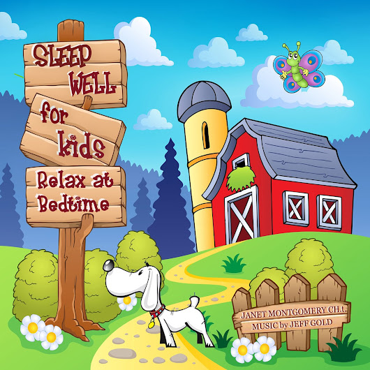 Sleep Well for Kids Relax at Bedtime CD & GIVEAWAY