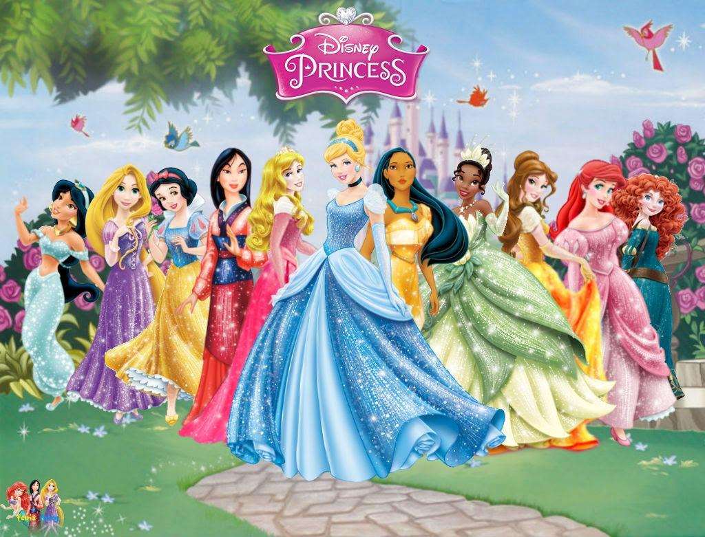Disney Princess Dresses Wallpaper 00403 - Baltana
