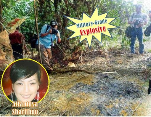 Altantuya-Shaariibuu - Murder Site - Military Grade Explosive
