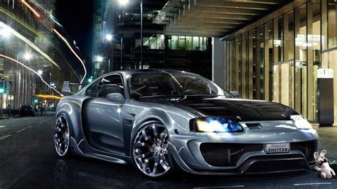 Toyota Supra Tuning HD Wallpaper   WallpaperFX