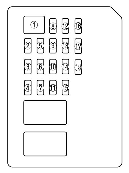 Mazda 6 2009 2010 Fuse Box Diagram Auto Genius
