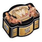 WWE Wrestling Topps 2010 WWE World Heavyweight Champion Trading Card Tin