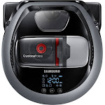 Samsung - POWERbot R7040 Wi-Fi Connected Robot Vacuum with Edge Clean - Neutral Gray
