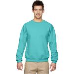 Jerzees NuBlend Crewneck Sweatshirt-Scuba BLUE-S
