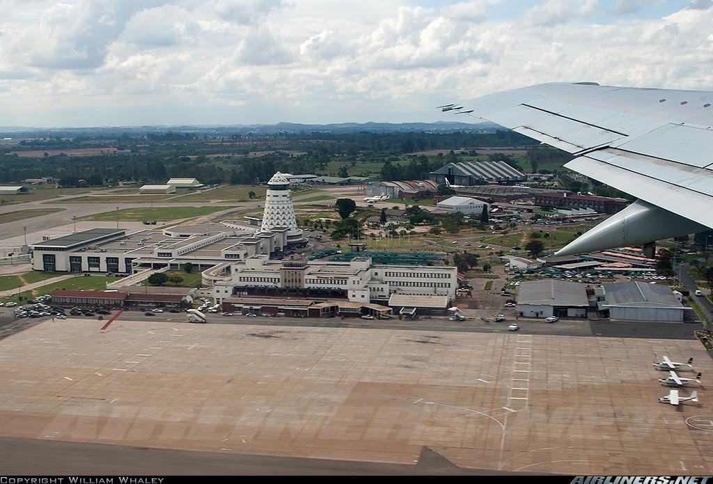 Harare Airport, Zimbabwe