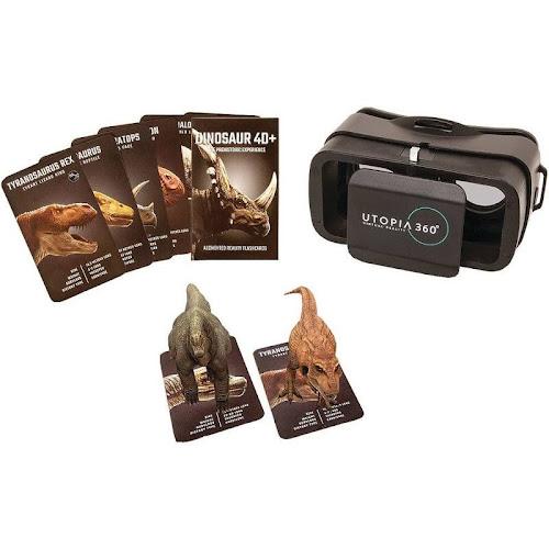 ReTrak Utopia 360° Virtual Reality Headset - 4D Dinosaur Experience
