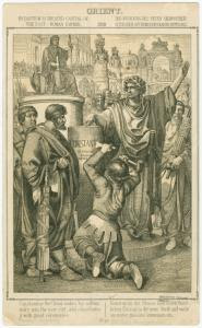 Byzantium is created capital o... Digital ID: 1624874. New York Public Library