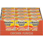 Maruchan Instant Lunch Soup, Chicken - 12 pack, 2.25 oz cups