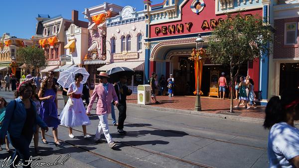 Disneyland Resort, Disneyland, Main Street U.S.A., Halloween Time, Dapper Dans, Dapper