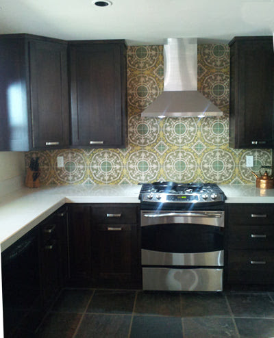 Cuban Tiles Create an eye-catching backsplash