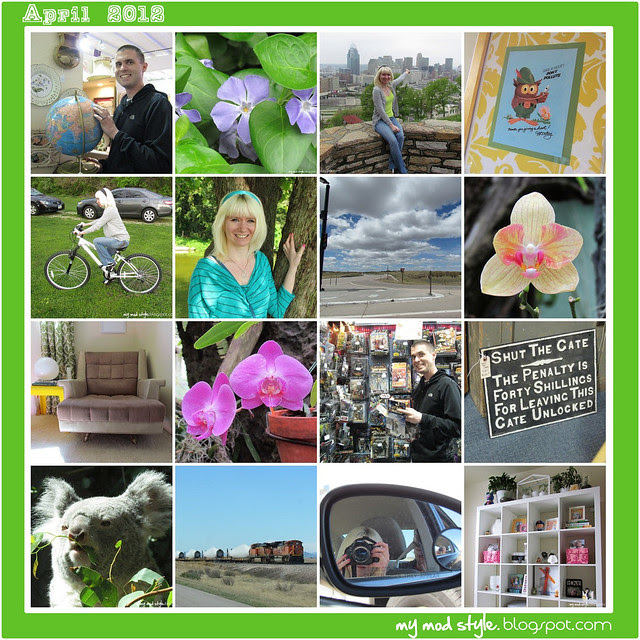 Monthly Mosaic - April 2012