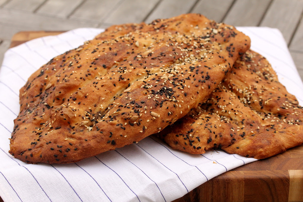 Nan e Barbari   Persian Flatbread