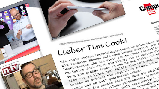 Apple boycotts COMPUTER BILD: Open letter to Tim Cook - COMPUTER BILD