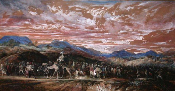 Ο Μάρτιος των Βεδουίνων - Alexandre-Gabriel Decamps - 1846