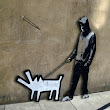 Banksy's Street Art Comes Alive As Animated GIFs - DesignTAXI.com