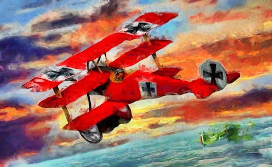 Red Baron Poster Art Print