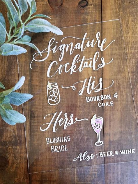 Best 25  Wedding bar signs ideas on Pinterest   Country
