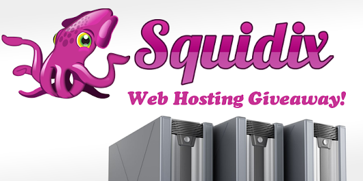 Squidix Web Hosting Giveaway! | Web Design Fact