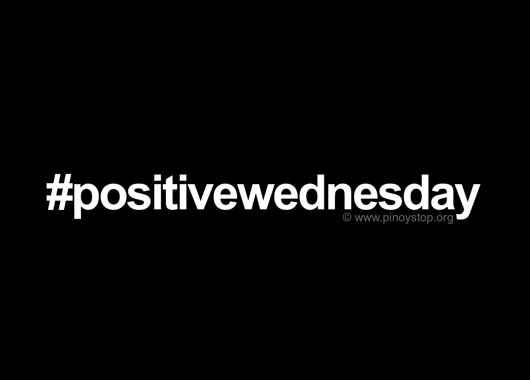 Positive Wednesday Quotes Pinoy Stop