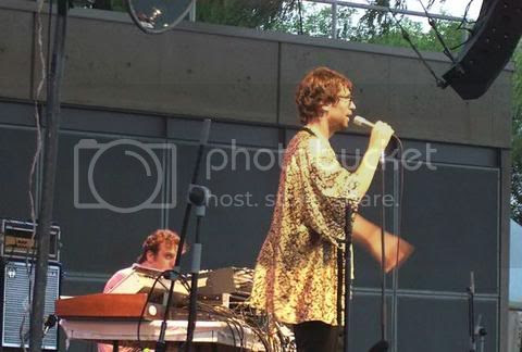 Jamie Lidell @ Harbourfront: photo by Mike Ligon