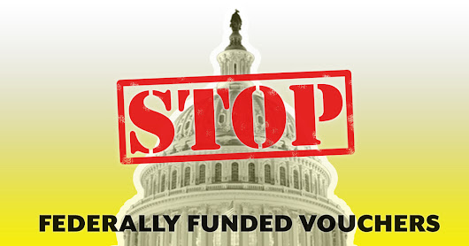Tell Congress: Stop the federally funded voucher program!