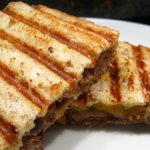 Beef, Blue Cheese & Caramelized Onion Panini