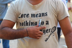 Love Means Nothing To ...an asshole by firoze shakir photographerno1