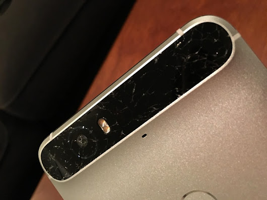 Some Nexus 6P Owners Are Reporting Spontaneously Broken Rear Glass Panels