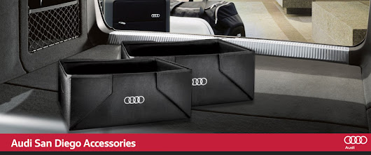 Genuine Audi Accessories in San Diego, CA, Serving La Jolla & University City