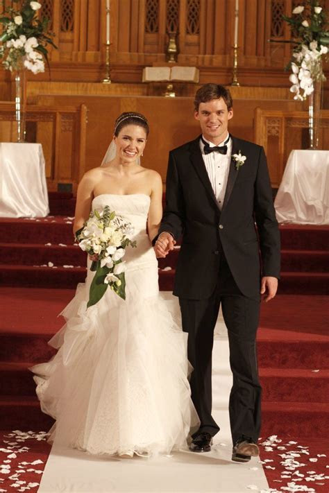 Brooke and Julian's official wedding photo. #OneTreeHill
