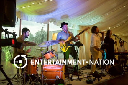 Wedding Band Review: Tim and Charlotte's Northampton Marquee Wedding With The Groove Masters