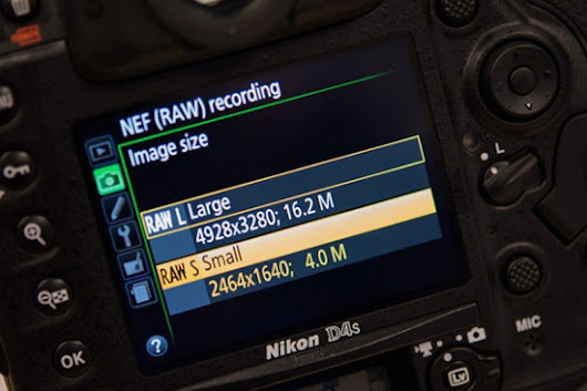 What exactly is the new Nikon sRAW file format? | Nikon Rumors