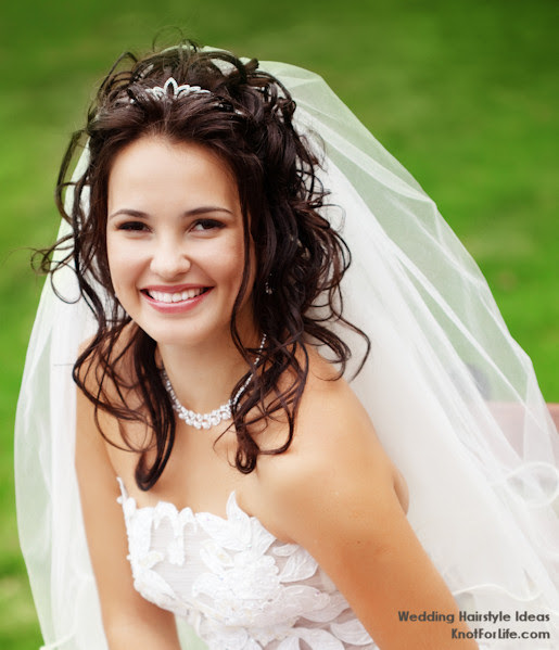 Wedding Hairstyles Down With Veil Best Wedding Hairs
