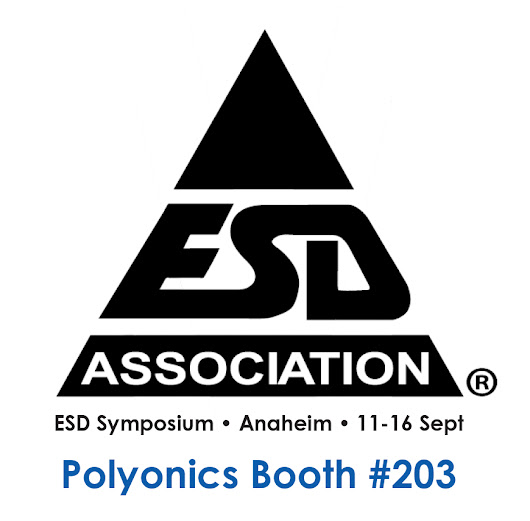 Polyonics to Display ESD Labels, Films and Tapes at the 2016 ESD Symposium