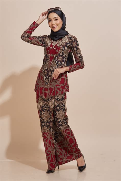 baju batik kebaya modern model baju terbaru
