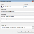 LibreOffice Extension: How to Export the Custom Palette - LibreOffice Design Team