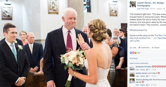 Man who received heart transplant walks organ donor's daughter down the aisle
