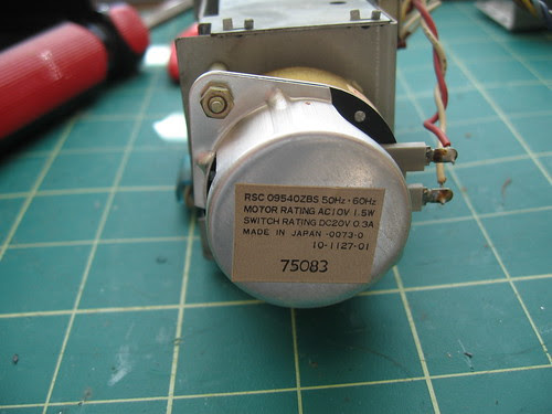 "Panasonic ""Digital"" Clock - 60Hz motor"