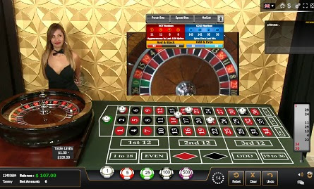 USA Live Dealer European Roulette - USA Online Casinos