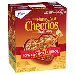 Cheerios Cereal, Honey Nut, 27.5 oz, 2-count