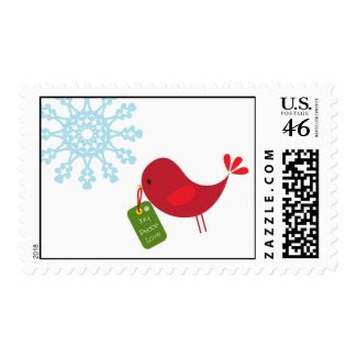 Christmas Bird - Postage
