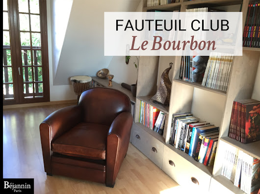 fauteuil club cuir bourbon bjannin paris fabricant fauteuil club - Fauteuil Club Paris