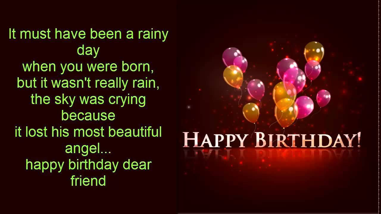Birthday Wish In English For Girlfriend Sms With Wallpapers Happy