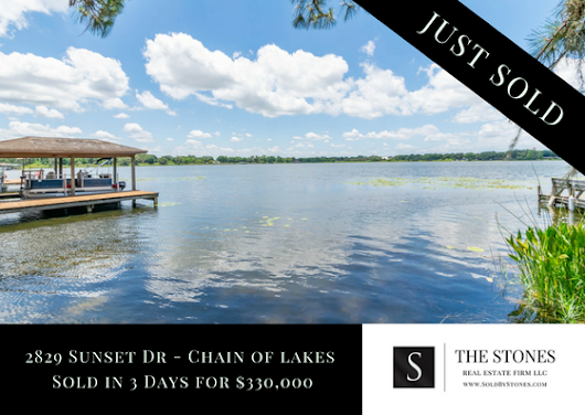 JUST SOLD: Winter Haven Chain of Lakes - The Stones Real Estate Firm