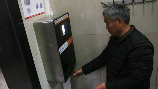 China is fighting toilet paper thieves with facial recognition software