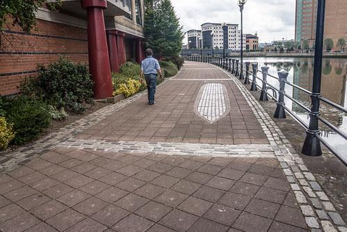 Belfast - Starboard By Rachel Joynt (Greggs Quay) by infomatique