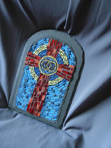 Wedding Cross mosaic