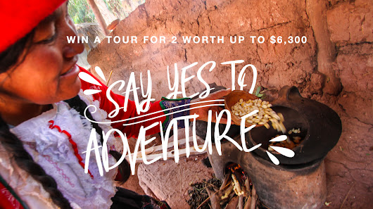 Say yes to adventure!