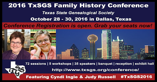 TxSGS 2016 Conference Registration